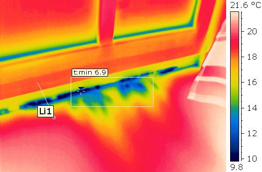 Luftdichtigkeitsprüfung mit Thermografie und Blower-Door